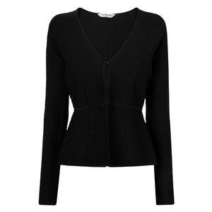 LK BENNET Alea Peplum Blazer Jacket Sweater